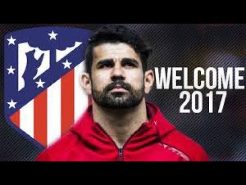 Diego Costa Welcome Back To Atletico Madrid¦ 2016⁄17 - Skills & Goals ᴴᴰ