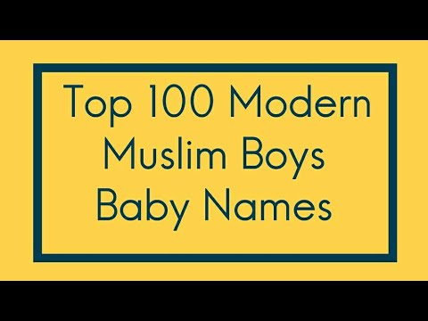 Top 100 Modern Unique Popular Muslim Baby Names for Boys meanings indian  islamic baby names