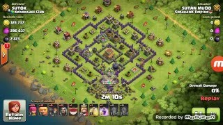 Strategi attack Clash of Clans bikin mampus 100%