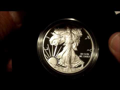 2016-W Proof American Silver Eagle - FIRST LOOK!