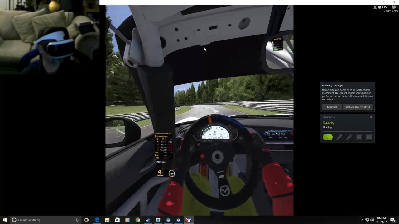 iRacing: Motorsport Simulator with PSVR