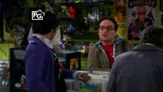 the big bang theory raj the imperial march