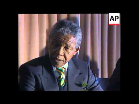 Nelson Mandela Insists That The South African Government Repeal The Land Act And The Group Areas Act