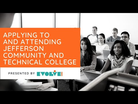 Evolve502: Applying to and Attending Jefferson Community and Technical College.