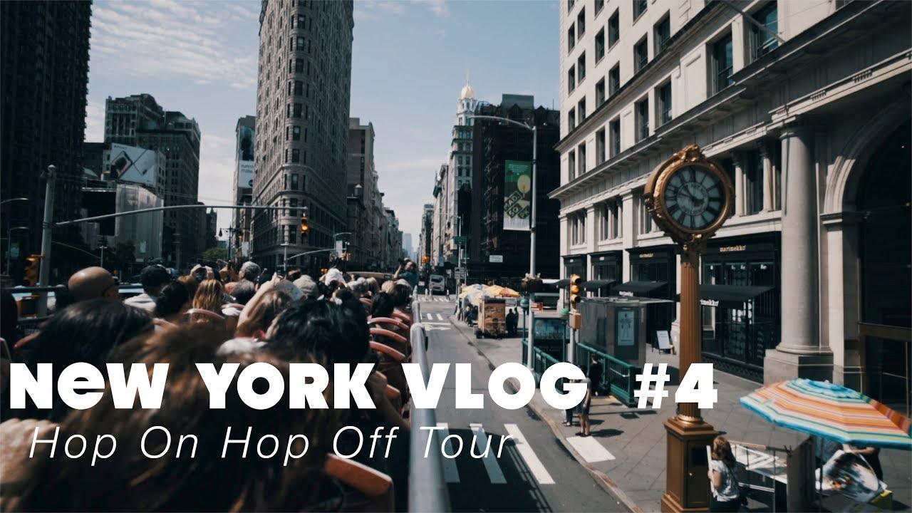 Hop-On Hop-Off Tour | NEW YORK VLOG #4