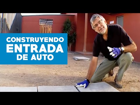 C mo construir una entrada de auto youtube - Ideas para construir una casa ...