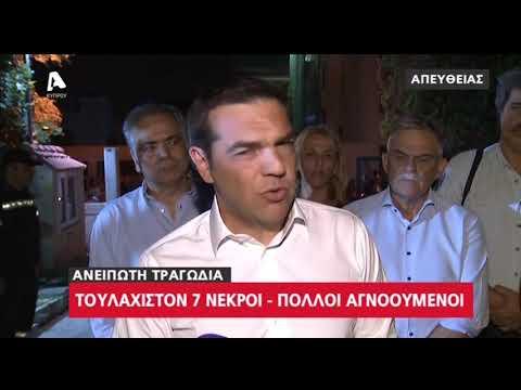 """Τσίπρας: """"Δύσκολη νύχτα για την Ελλάδα"""""""