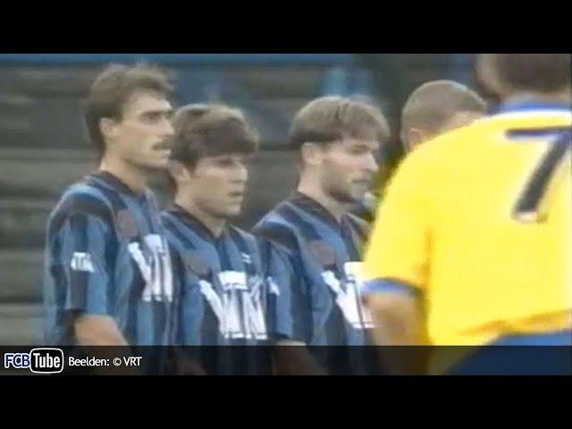 1993-1994 - Jupiler Pro League - 02. SK Beveren - Club Brugge 1-1