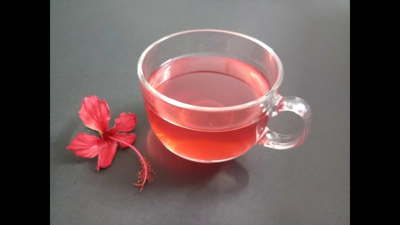 Hibiscus Flower Teahealth Benefits Of Hibiscus Tea Youtube