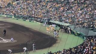 2017/04/09 阪神VS巨人 阪神甲子園球場 たこやきレインボー 清井咲希(さ...