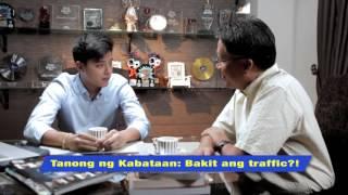TANONG NI DANIEL PADILLA PARA SA KABATAAN : (Traffic Episode)