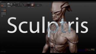 sculptris - 05 - Обзор возможностей программы