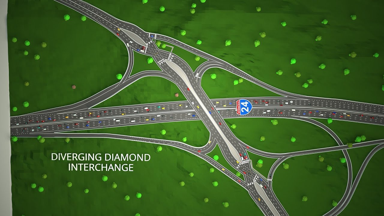 I-24 Hickory Hollow Pkwy Interchange