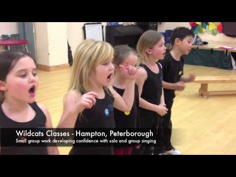 Wildcats Musical Theatre - Mini Class Solo and group singing practice
