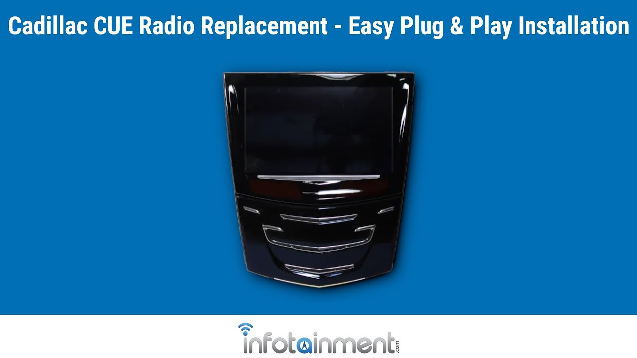 Cadillac Cue Screen Replacement - Easy Plug & Play Install!
