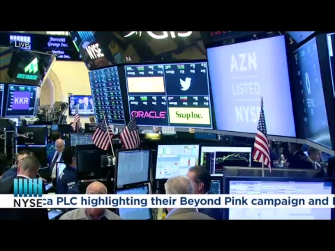 AstraZeneca PLC (NYSE: AZN) Rings The NYSE Closing Bell