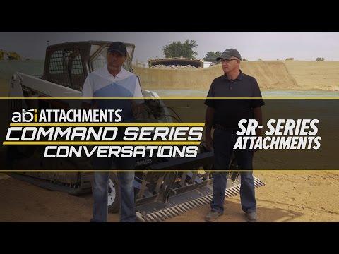 ABI SR3, SR2, SR1 Skid Steer Rake Conversation