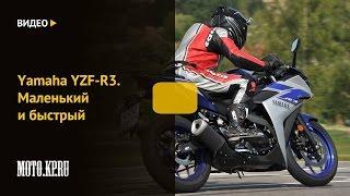 [MOTO.KP.RU] YAMAHA YZF-R3 Маленький и быстрый
