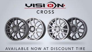 Vision Cross Wheels   Discount Tire