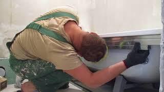 как сделать экран под ванной из гипсокартона