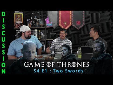 Game Of Thrones Season 4 Episode 1 Two Swords - Discussion & Recap