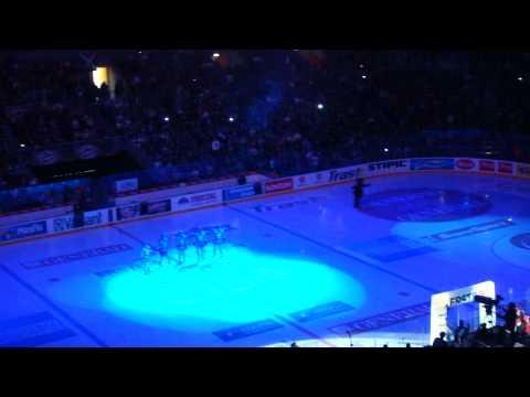Medveščak Zagreb - Vienna Capitals @ Zagreb, Arena, 23.01.2011. match opening