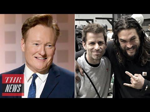 Conan O'Brien Ending Late Night Talk Show, Zack Snyder Drops New Justice League Trailer   THR News
