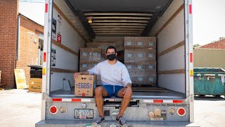 College Students Delivery 626,000+ lbs of Produce to Food Banks in Need