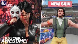Strange OR Awesome!?   WWE 2K19 #2 (featuring Fortnite Default skin)