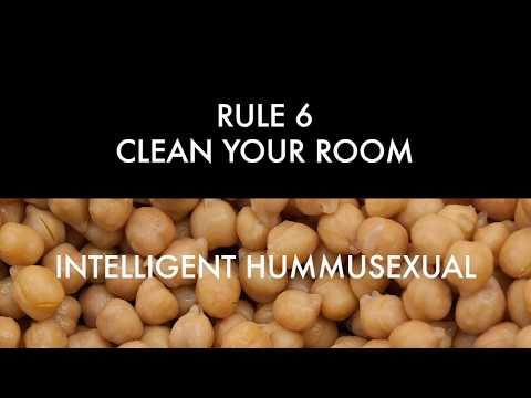 Rule 6 - Clean Your Room - a Jordan Peterson song