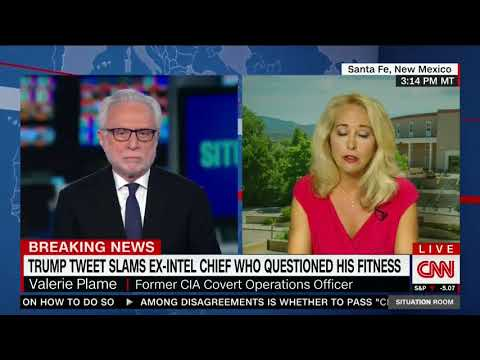 VALERIE PLAME FULL INTERVIEW WITH WOLF BLITZER 8/24/2017