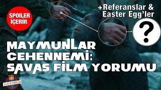 Video Maymunlar Cehennemi: Savaş Spoiler'lı Film İncelemesi | Filmdeki Referanslar (easter eggs download MP3, 3GP, MP4, WEBM, AVI, FLV Januari 2018