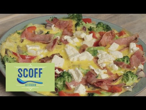 Bacon And Feta Omelette | The Body Coach