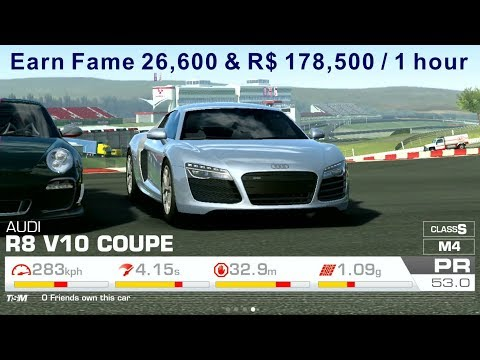 Real Racing 3 Farming R$ & Fame In Pro Category (Cheat)