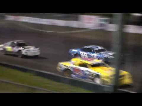 Stock Car Bmain 1 @ Hancock County Speedway 06/28/16