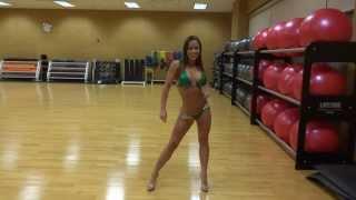 Bikini Competition contest Stage Walking How to Pose NPC IFBB Diana Whitt