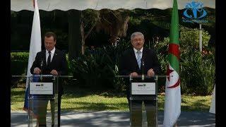 الجزائر و روسيا توقعان على خمس اتفاقيات تعاون في المجال المدني