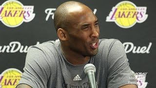 WATCH: Kobe Bryant last pre-game interview in San Antonio