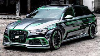 1000PS ABT Audi RS6-E | Abonnenten fahren mit! | Daniel Abt