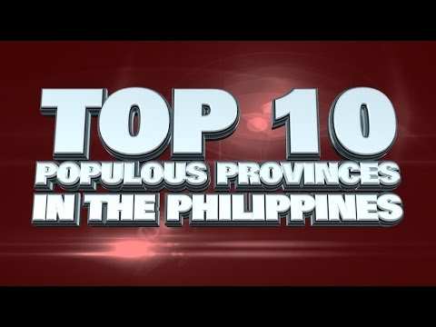 Top 10 Most Populous Provinces In The Philippines 2014