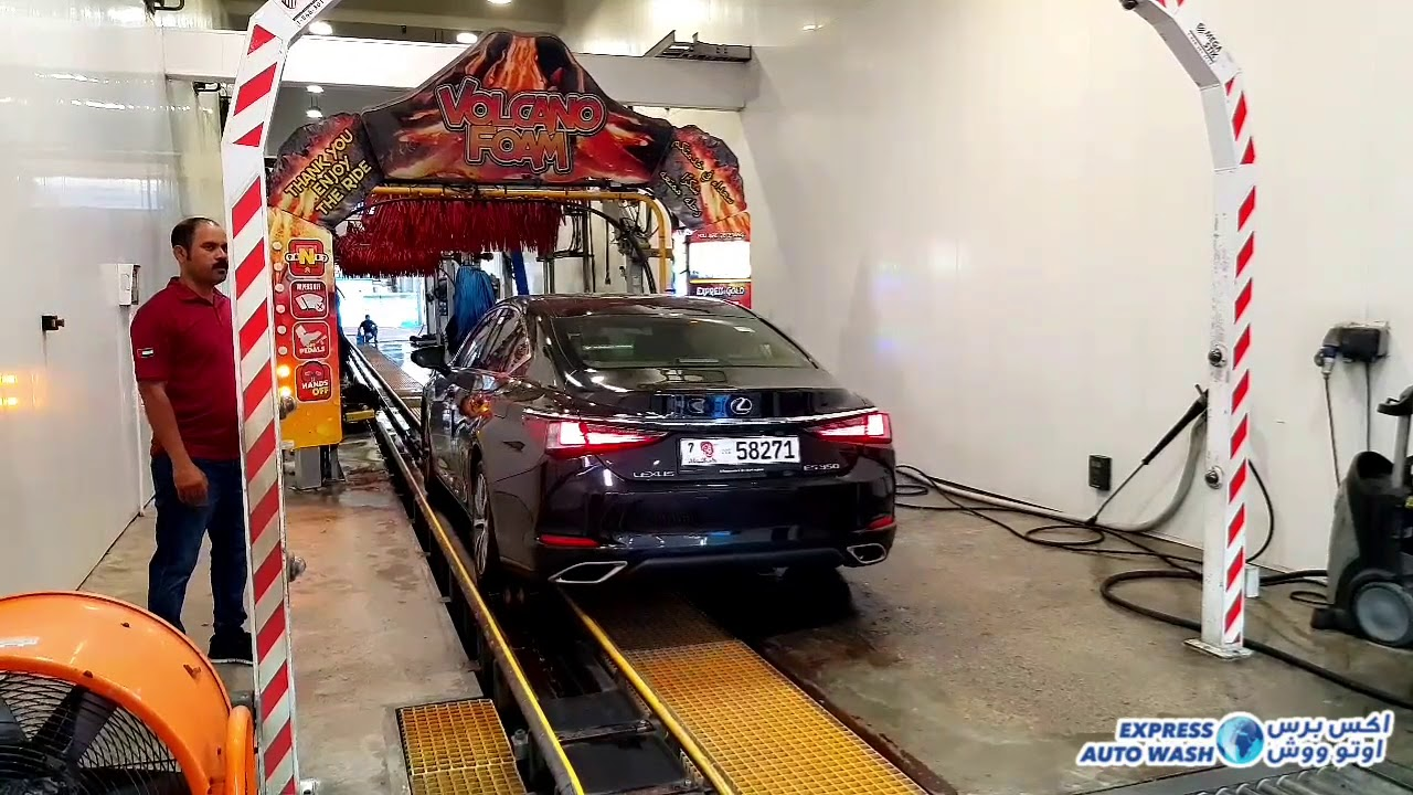 Express Auto Wash Regions 1st Only Revolutionary Carwash Technology