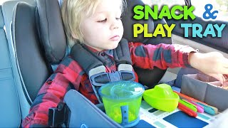 Kenley Kids | TRAVEL ACTIVITY TRAY - Demo & Review