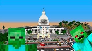 Подкрепление Президента. День 12. Зомби Апокалипсис в Майнкрафт