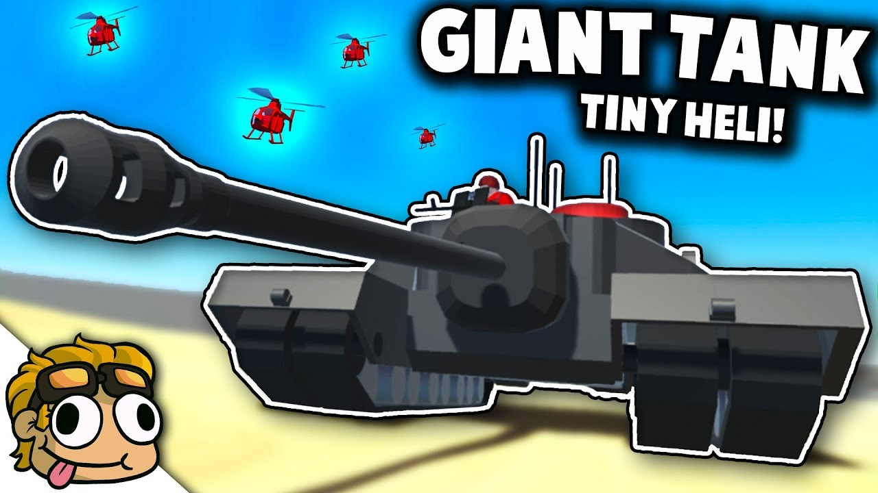 GIANT TANK and MICRO HELICOPTER! | Ravenfield Weapon and Vehicle Mod Beta  Gameplay