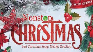 The Best Christmas Songs Medley Non Stop