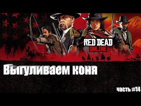 Выгуливаем коня (Red Dead Online) (часть #14) (PS4)
