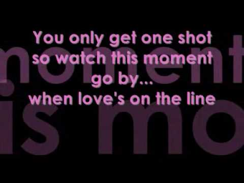 JLS one shot lyrics