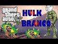 GTA V : 1 Minuto de zueira , hulk branco
