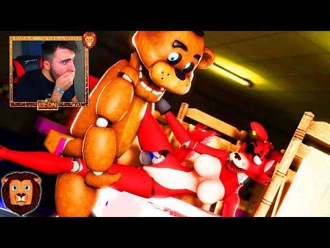LAS ANIMACIONES MAS EPICAS DE FIVE NIGHTS AT FREDDY'S *MUCHO MIEDO* 😱😰 | REACCION LEON PICARON thumbnail