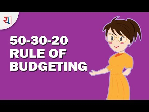 50/30/20 Rule of Budgeting | Thumb rule to manage personal budget